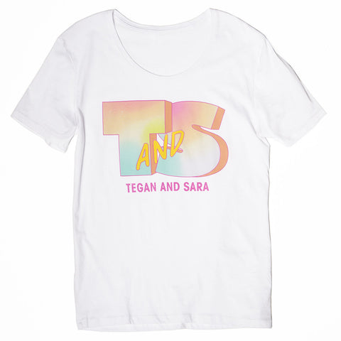 T and S MTV Wide Neck T-Shirt