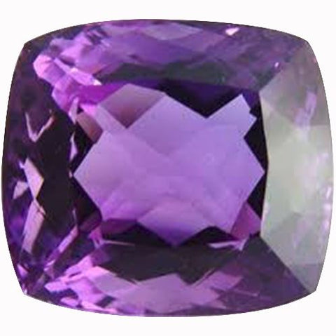 Click to view Square Cushion Cut Amethyst loose stones variation