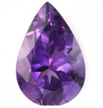 Details about  /Loose Gemstone Natural Amethyst Certified 45 To 50 Cts Pear Shape