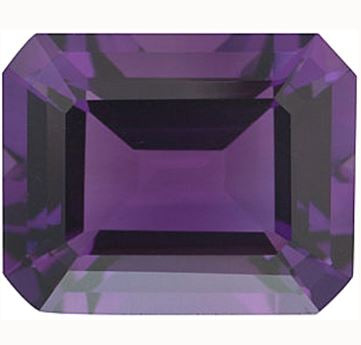 Click to view Emerald Cut Amethyst loose Gemstones variation
