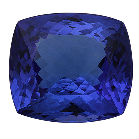 Click to view Square Cushion Cut Tanzanite loose stones variation