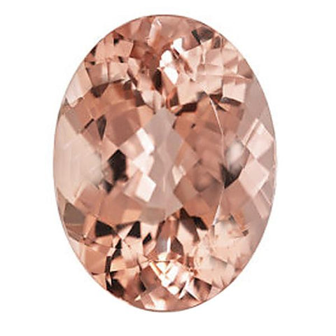Click to view Oval shape morganite loose Gemstones variation