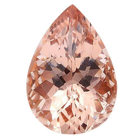 Click to view Pear Shape Morganite Loose Gemstones variation