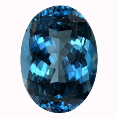 Click to view Oval shape London Blue Topaz loose Gemstones variation