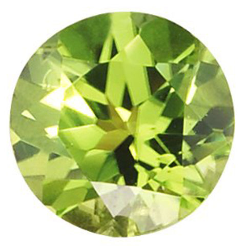Click to view Round Brilliant Cut Peridot Loose Gemstones variation
