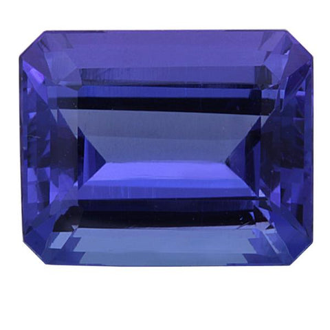 Click to view Emerald Cut Tanzanite loose Gemstones variation