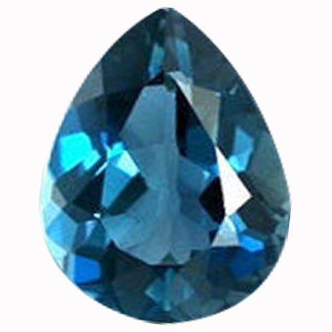 Click to view Pear Shape London Blue Topaz Loose Gemstones variation