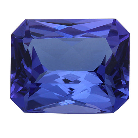 4.53ct Natural Radiant Cut Tanzanite Loose Gemstone