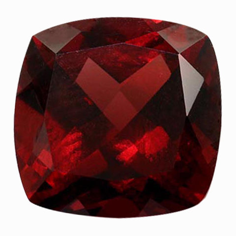 Click to view Square Cushion Cut Garnet loose stones variation