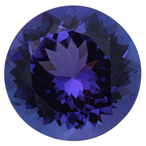 Click to view Round Shape Tanzanite Loose Gemstones variation