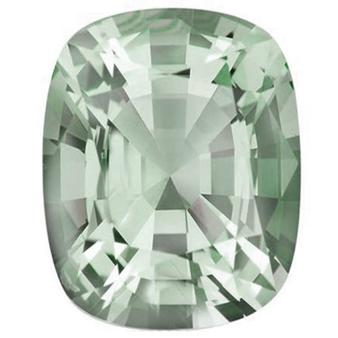 Click to view Rectangular cushion cut Green Amethyst loose Gemstones Variation