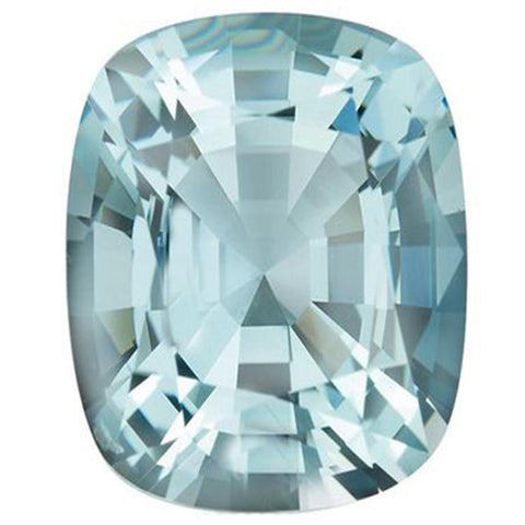 Click to view Rectangular cushion cut Aquamarine loose Gemstones Variation
