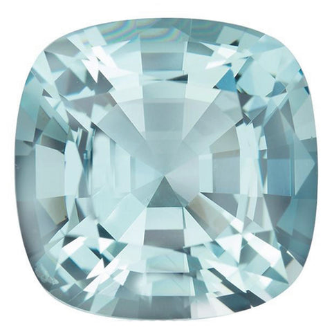 Click to view Square Cushion Cut Aquamarine loose stones variation