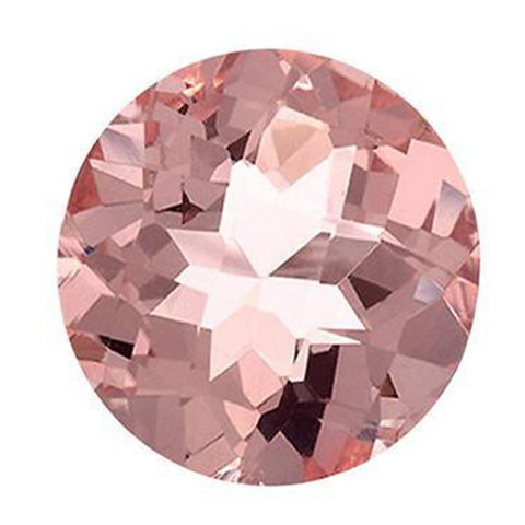 Click to view Round Brilliant Cut Morganite Loose Gemstones variation