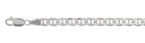 "150-6.3MM Mariner Chain Made in Italy Available in 7""-9"" and 16""-30"" Inches"