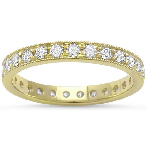 .68ct E VS Eternity Round Diamond  Wedding Stackable Anniversary Band