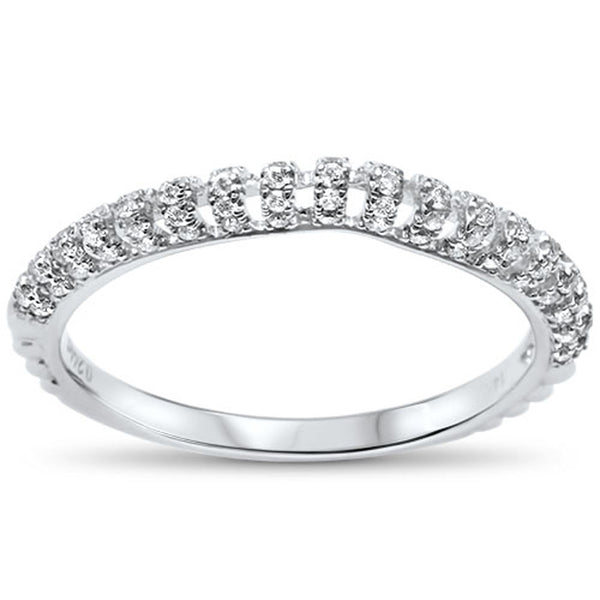 .24cts Modern F-VS2 Round Diamond Wedding Anniversary Band Size 6.5
