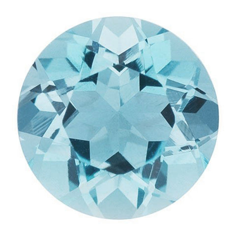 Click to view Round Brilliant Cut Aquamarine Loose Gemstones variation