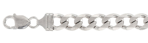 "400-17.5MM Flat Curb Chain Made in Italy Available in 8""- 32"" inches"
