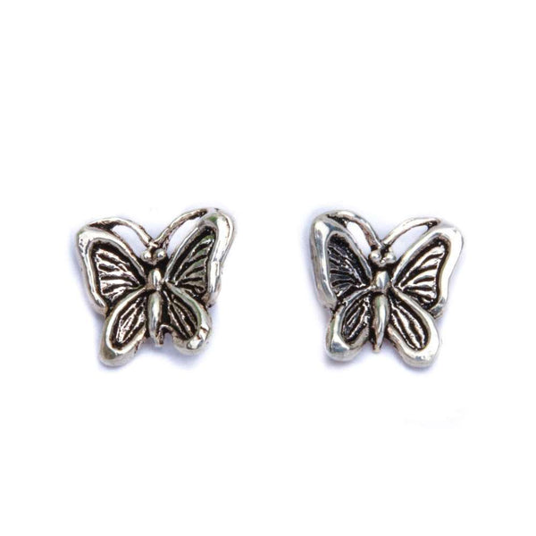 Butterfly .925 Sterling Silver Earrings