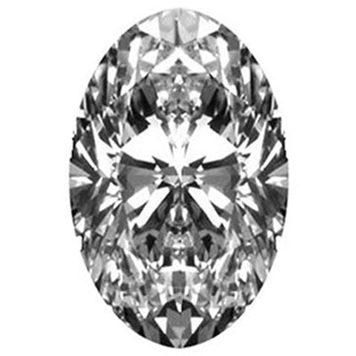 .83CT F SI3 EGL CERTIFIED OVAL BRILLIANT CUT DIAMOND