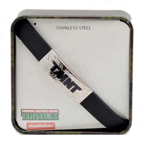 LICENSED PRODUCTS--NICKELODEON™ TEENAGE MUTANT NINJA TURTLES Stainless Steel Bracelet 8.5""