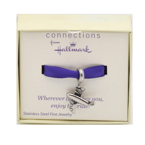 LICENSED PRODUCTS--Connections from Hallmark™ Stainless Steel Airplane Bead
