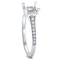 .22cts F-VS2 Round Diamond Semi Mount Engagement Ring Size 6.5