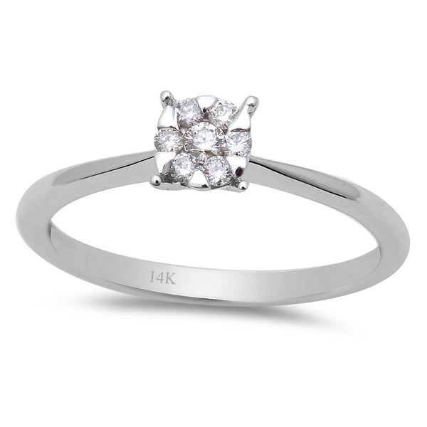 .12ct Round Diamond Engagement Promise Solitaire Engagement Ring Size 6.5