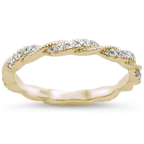 .23cts 14k Yellow Gold Diamond Ring Size 6.5