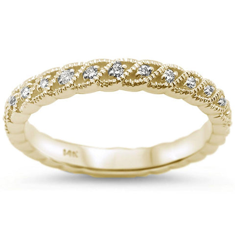 .22cts 14k Yellow Gold Diamond Ring Size 6.5