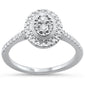 .31ct 14KT White Gold Oval shape Diamond Ring Size 6.5