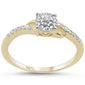 .16ct 14KT Yellow Gold Diamond Engagement Ring Size 6.5