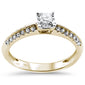 .23ct 14KT Yellow Gold Diamond Solitaire Ring Size 6.5