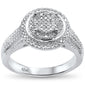 .37ct 10k White Gold Diamond Ring Size 6.5