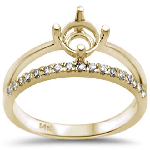 .21ct F SI 14K Yellow Gold Diamond Engagement Ring Size 6.5