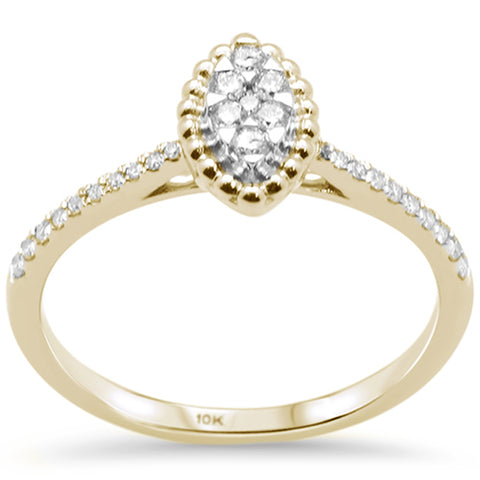 .21ct G SI 10K Yellow Gold Diamond Engagement Ring
