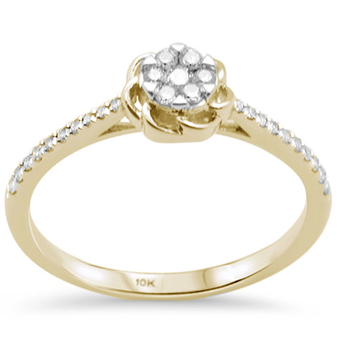 .20ct G SI 10K Yellow Gold Diamond Engagement Ring