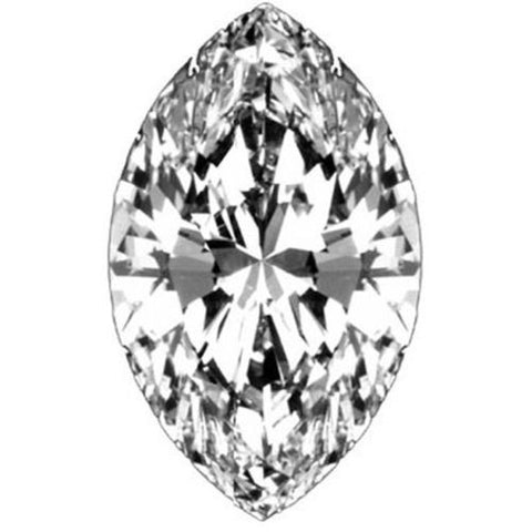 .75CT E I1 GIA CERTIFIED MARQUISE BRILLIANT CUT LOOSE DIAMOND