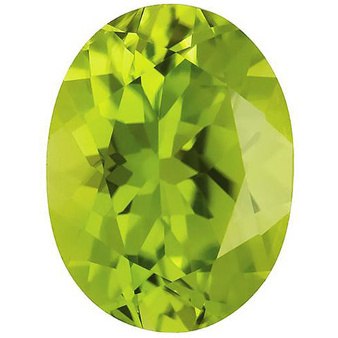 Click to view Oval shape Peridot loose Gemstones variation