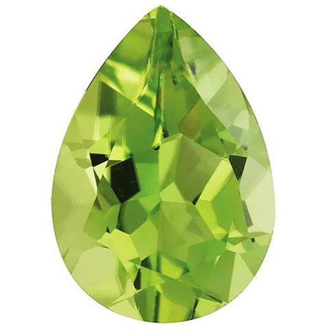 Click to view Pear Shape Peridot Loose Gemstones variation