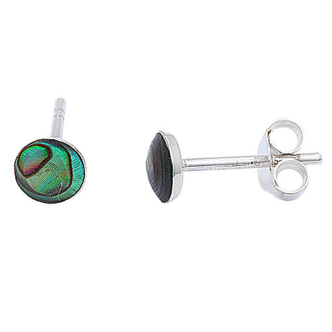 Abalone Shell .925 Sterling Silver Earring