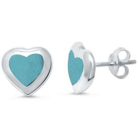 Turquoise .925 Sterling Silver Earrings