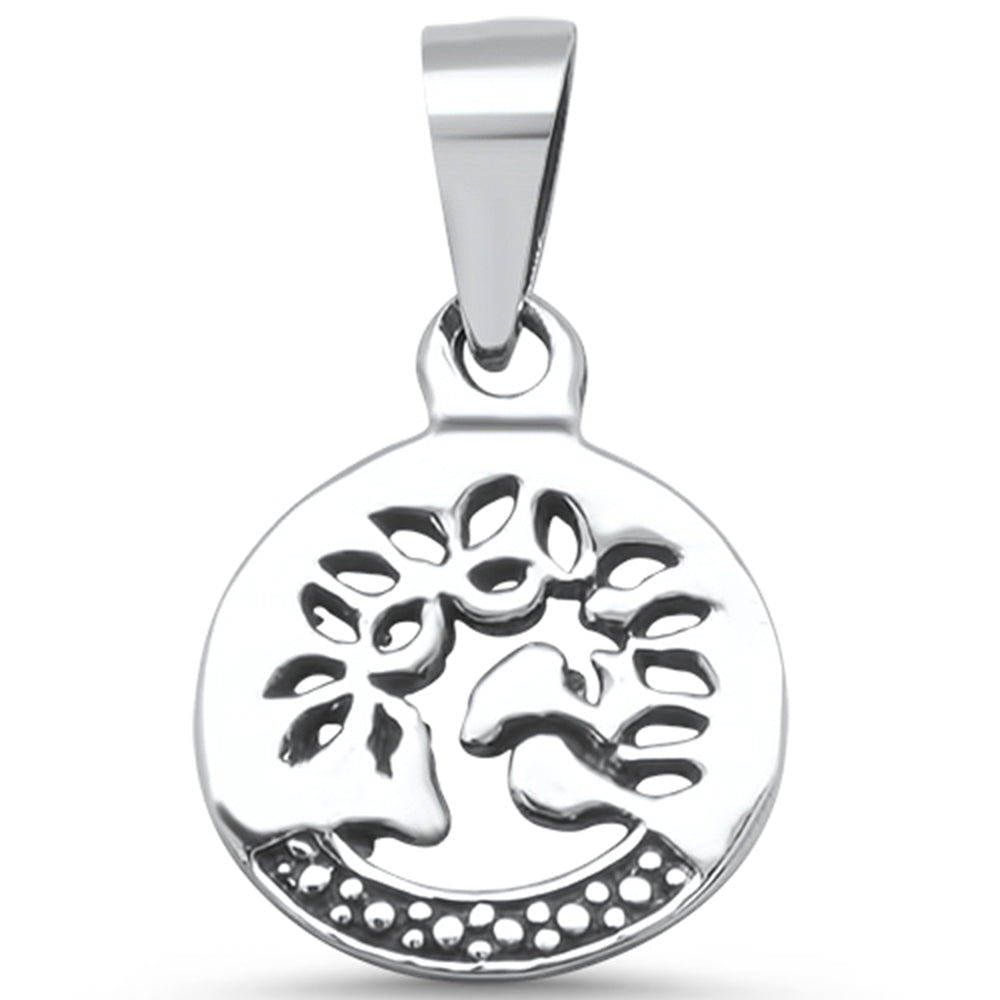 829c3db7f .925 Sterling Silver Plain Tree of life Family Tree Charm Pendant – Sonara  Jewelry