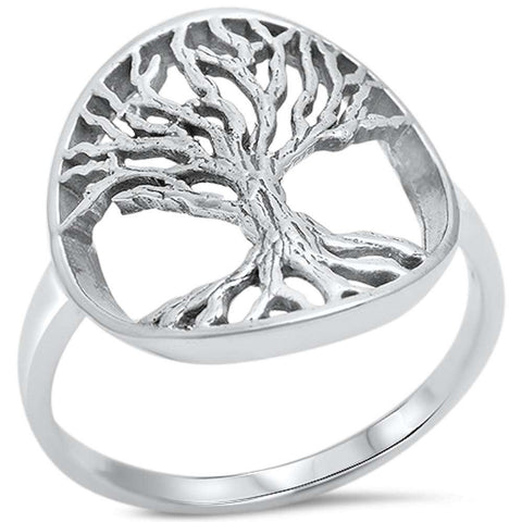 Tree of life .925 Sterling Silver Ring Sizes 5-9