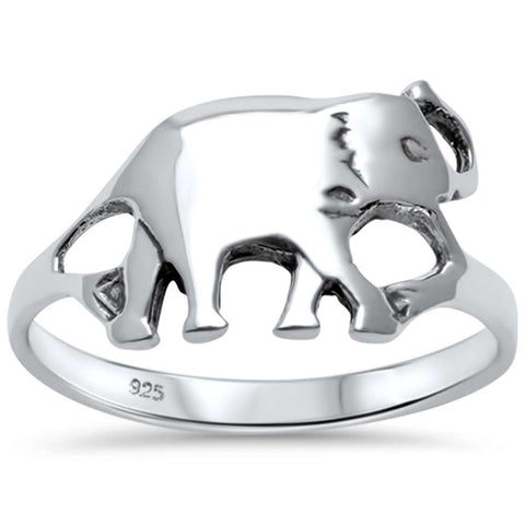Bali Elephant .925 Sterling Silver Ring Sizes 5-10