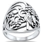 <span>CLOSEOUT!</span> Bird on a Tree .925 Sterling Silver Ring Sizes 5-10