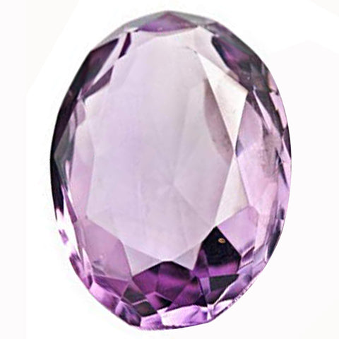 Click to view Oval shape Pink Amethyst loose Gemstones variation