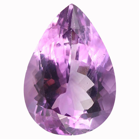 Click to view Pear Shape Pink Amethyst Loose Gemstones variation
