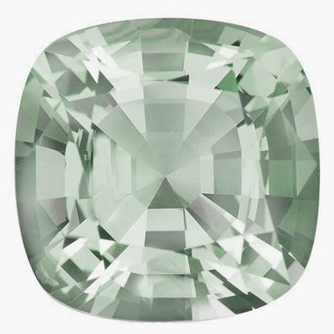 Click to view Square Cushion Cut Green Amethyst loose stones variation
